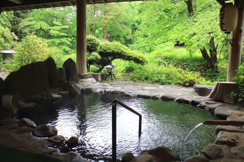 日本三大美人の湯に入る 川中温泉 かど半旅館