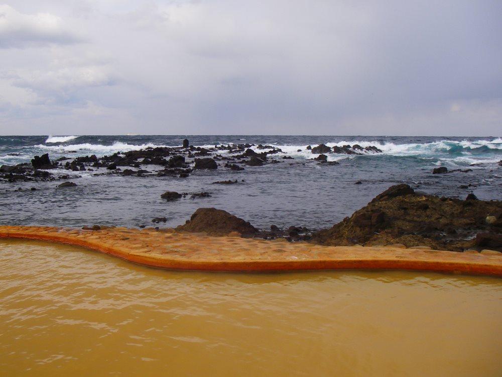 海と一体になれる混浴の絶景温泉の露天風呂!不老ふ死温泉【青森県の温泉】