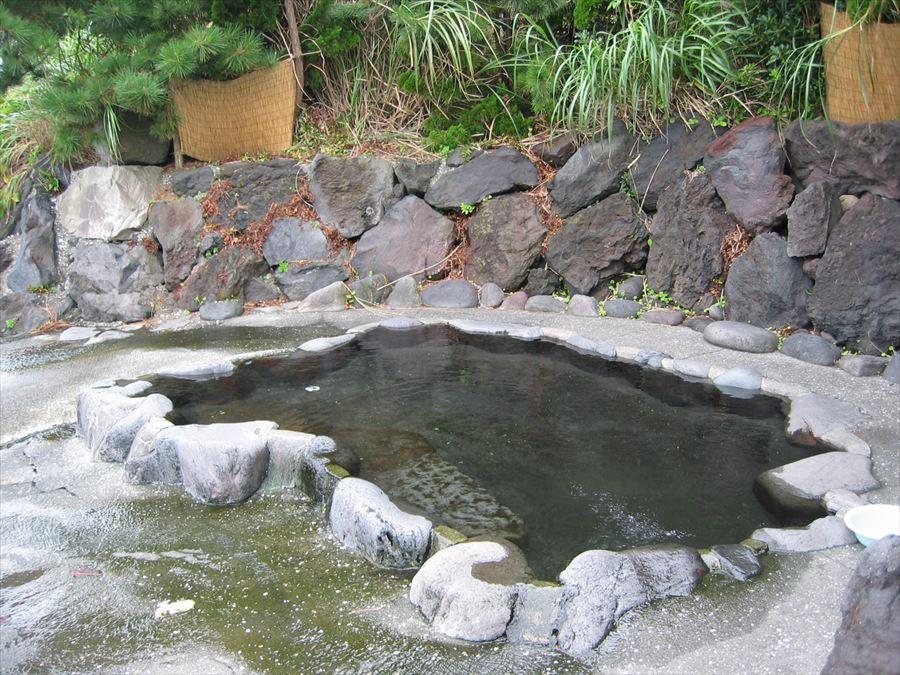 ... 露天風呂」「赤沢無料露天風呂