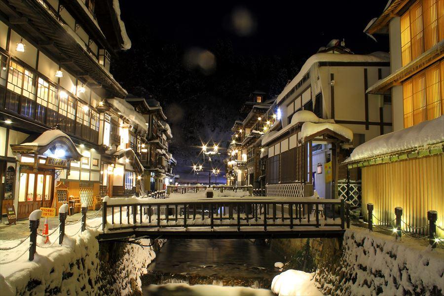 冬に訪れたい温泉と言ったらここ!銀山温泉 能登屋旅館【山形県の温泉】