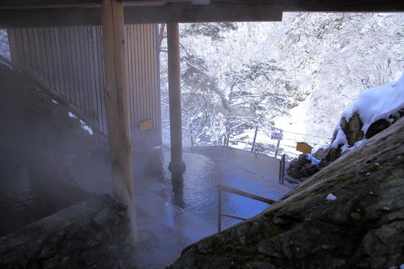 たな田という温泉が面白い・絶景を見ながら入る露天風呂!芦ノ牧温泉 大川荘【福島県の温泉】