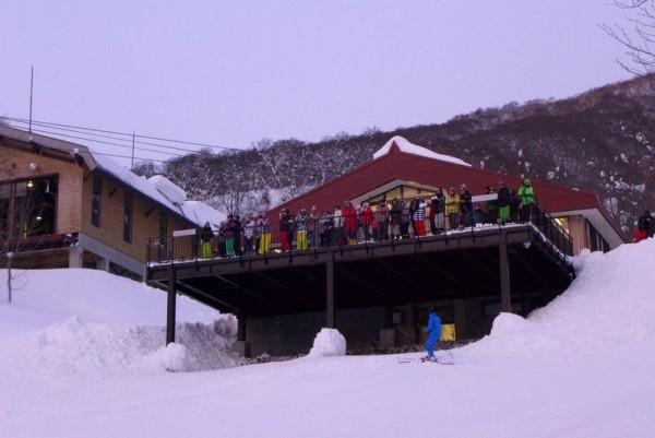 赤倉スキー場 初日の出