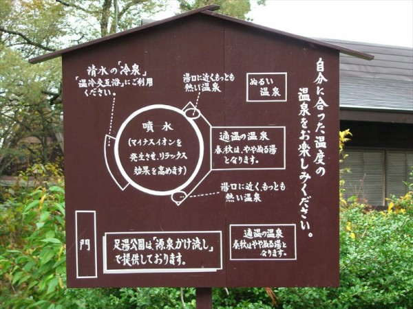 赤倉温泉 足湯公園