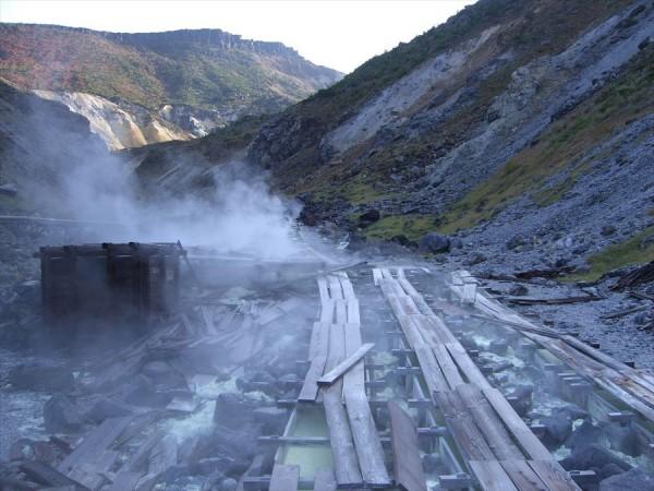 福島県の野湯 沼尻元湯