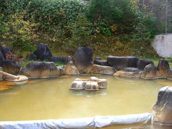 濁河温泉 市営露天風呂