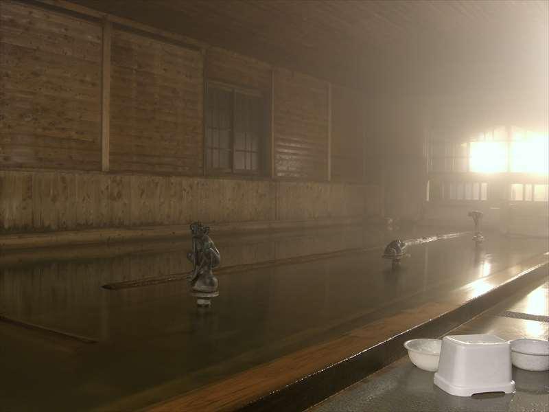 檜の大浴場が気持ちいい!河内温泉 金谷旅館【静岡県の温泉】